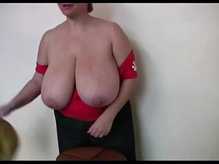 Huge Busty Russian Wife