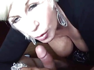 Oral - busty blonde mature (lovely tits and nipples)