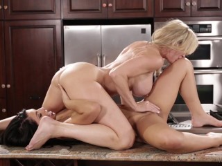Brandi enjoy, Gina Valentina In The Kitchen