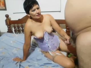 PERLA LOPEZ VIOLA AL LADRON VIOLADOR CON EL butt