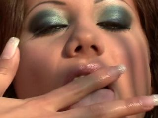 Blistering MILF Anita Pearl fingers say no to niggardly cunt less than chum around with annoy hot sunshine