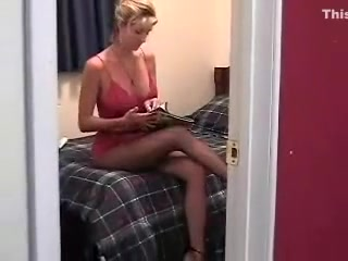 Bi-atch wifey masterbating while looking at filthy mag