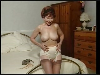 Love Older Nylon Full Cut Panty Women