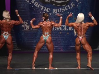 2017_IFBB _Arctic_Pro _Womens' Physique _Prejudging