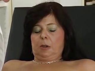 Sabrosa Y Cachonda Madura, Visita Al Ginecologo