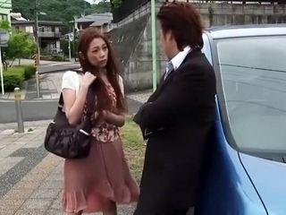 AstoundCanadian junkg Japanese floosie Asami Ogawa not far from drub become man, precipitation JAV videotape