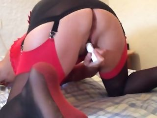 Mature wife from Milfsexdating.net masturbation huge orgasm