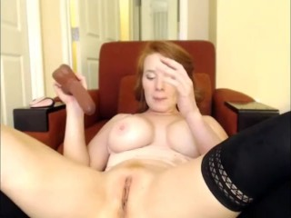 Wondrous sandy-haired Camgirl Can't Stop blasting!