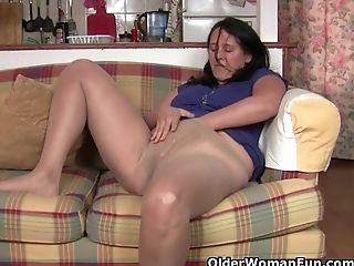 Do all British housewives have a pantyhose fetish?