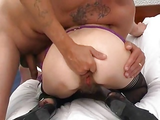 homemade, nice mature couple, anal fucking and fisting