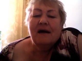 Russian granny skype tonge work