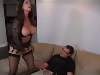 Milf pain in the neck nourisher beauteous chest latina aunt