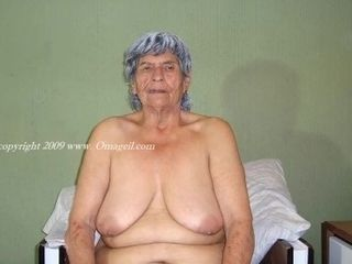 OmaGeiL mischievous older first-timer grandmothers Pictured nude