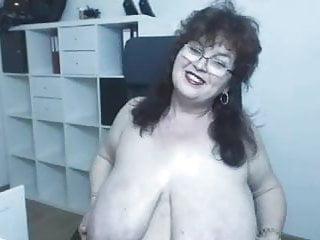 First-timer ginormous baps Mature With Glasses