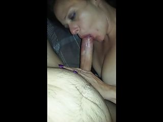 MILF had fun with young latino stud.