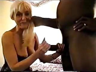 blonde wife huge black cock