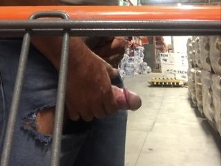 Busting a sack at the Home Depot