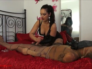 2nd wrecked climax: After spectacularly destroying an climax, dominatrix Ezada
