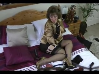 black stocking milf teases From LOOK4MILF.COM