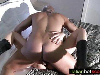 Italian milf first-time