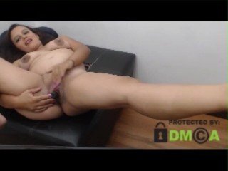 Silver-tongued Colombian Skype play Webcam