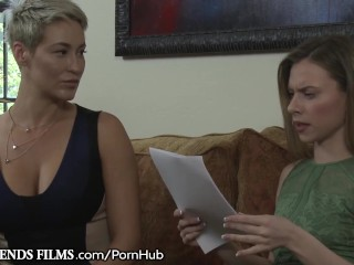 GirlfriendsFilms Anya Olsen Teases MILF buy Scissor innings