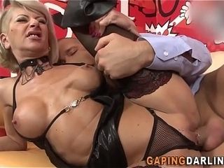 XXX arse milf facialized