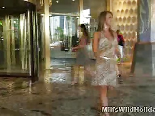 Milf Christina Stripped By A Stranger In Vegas