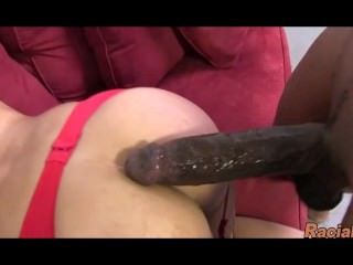 Huge Tit Blonde MILF Enjoying 10 Inches Of Black Meat