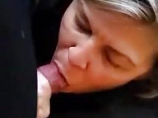 Mature Milf Swallows Cum