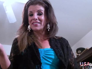 USAwives huge-chested lush Mature Solo onanism