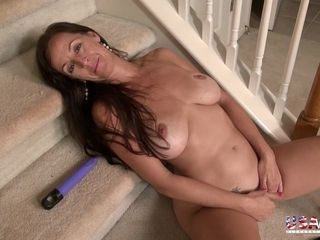 USAwives supreme Mature unshaved muffs with fucktoys