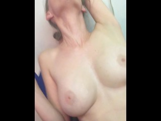 German unexperienced Homemade fingerblasting my wifey humid puss to climax while Smoking
