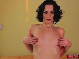 Bony mommy very first porno