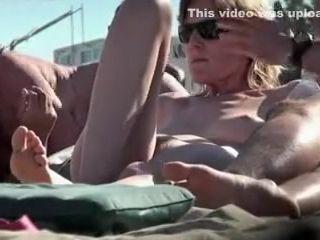 Spycam France naturist wifey caught spycam at the beach