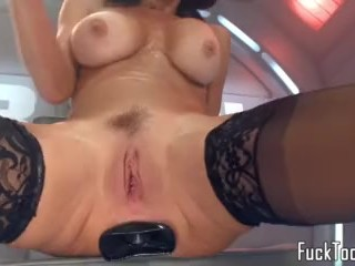 Honcho gewgaw devoted MILF squirting
