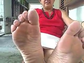 Granny dirty soles