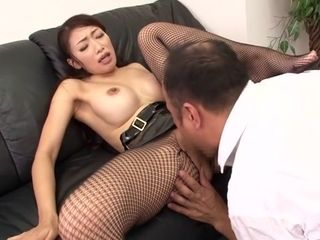 Extraordinaire asian whore Reiko Kobayakawa in naughty JAV censored Fetish, unshaved pin