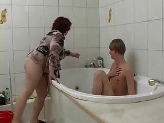 Chubby Mom Elena and Slava