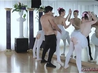 Establishing orgy supreme moment Ballerinas
