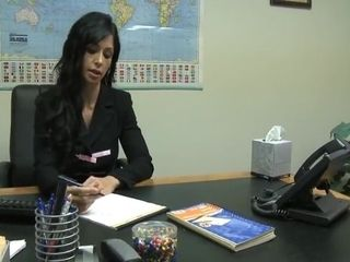 Milf at the office