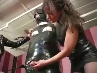 Weird Mature domina extraordinary schlong And nutsack torment