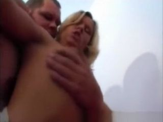 Fledgling wifey homemade gargle and tear up with facial cumshot money-shot