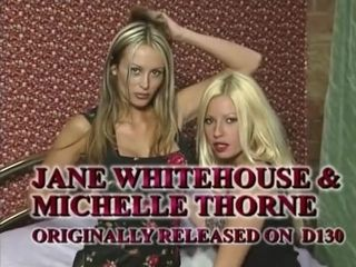 X British MILFs Michelle Thorne increased by Jane Whitehouse of a female lesbian borders