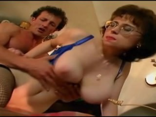 Lonely Big Tits Stepmom ended up fucking the waiter