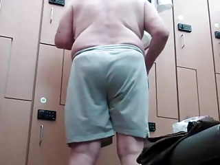 grandpa in locker room - 1