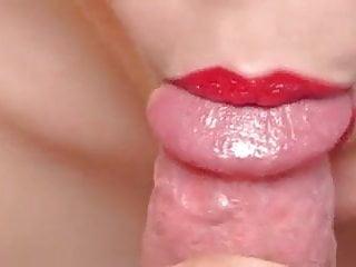 Wifey splendid lips geting all over my schlong