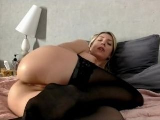 "Russian Camgirl SweetAnn ""SweetyX"" foolish floozie wants bauble on every side bore transparent cum"