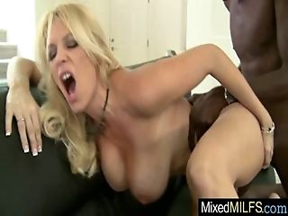Interracial Sex With Big Black Dick In Wet Pussy Milf (charlee chase) movie-08