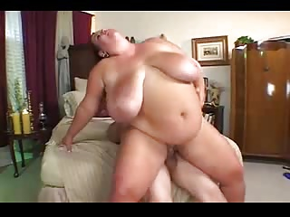 BBW mature with huge tits gets fucked